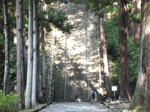 Minobu stairs