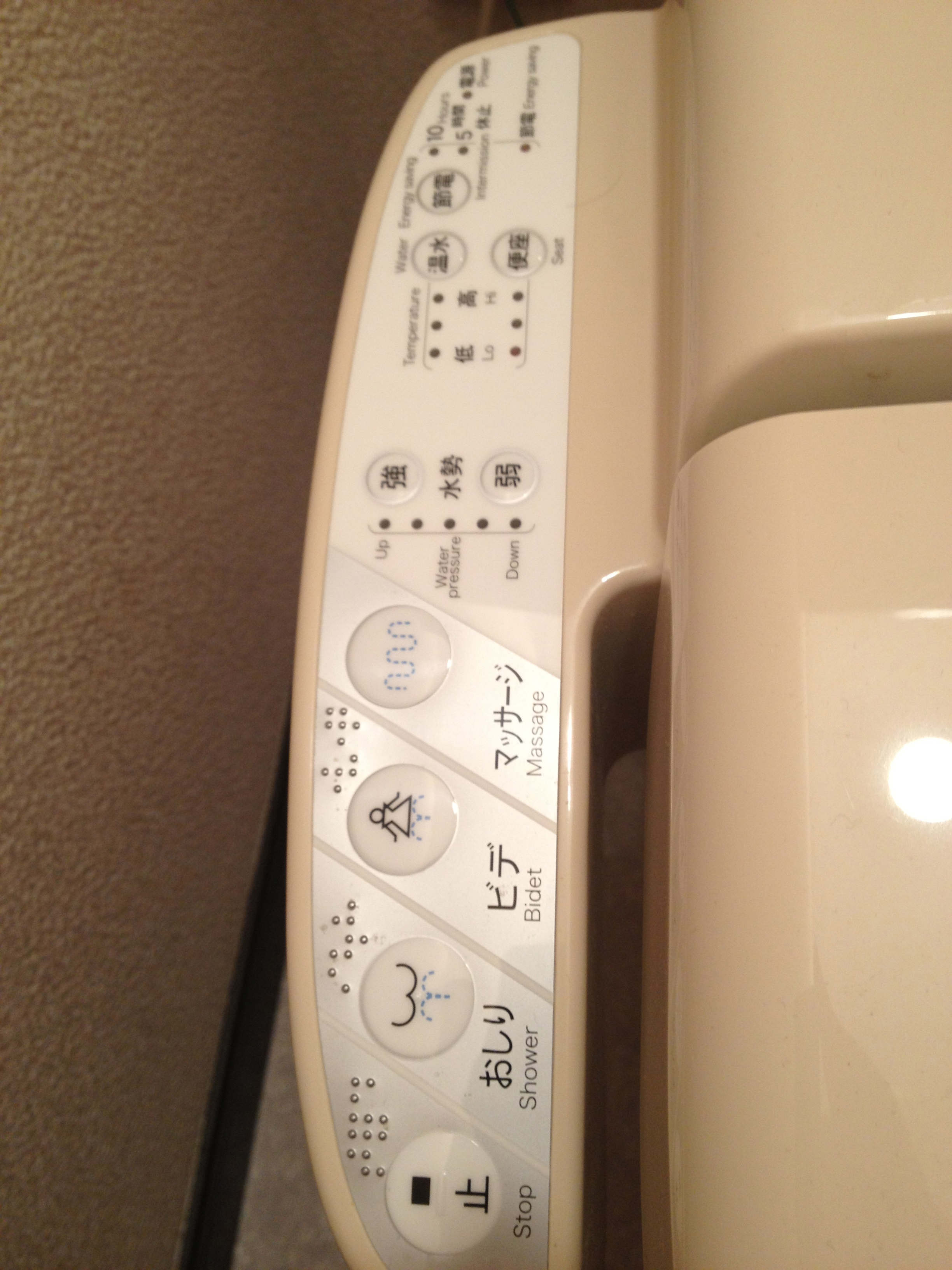 Japanese Toilet Control Panel Toilets  From Squatting To Robotic IntrovertJapan