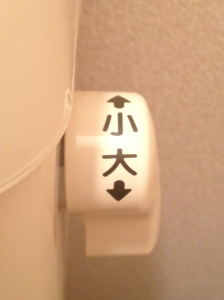 Japanese Toilet Handle