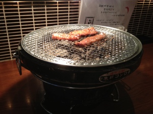 Cooking Yakiniku