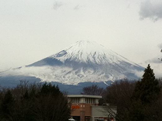 Mt. Fuji from Gotemba