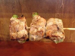 asparagus bacon yakitori