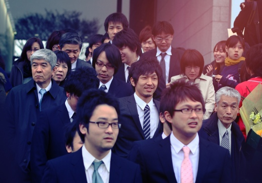 Japanese Salaryman's Suit