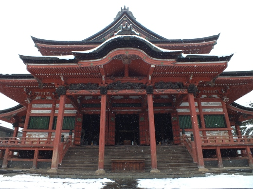 traditional Japanese temple